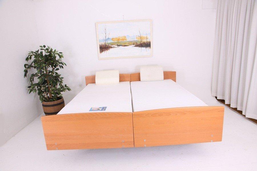 QQQ502503 Belletto 3080 MA Twee- persoons hoog laag bed uit voorraad. 2 x 90 x 220