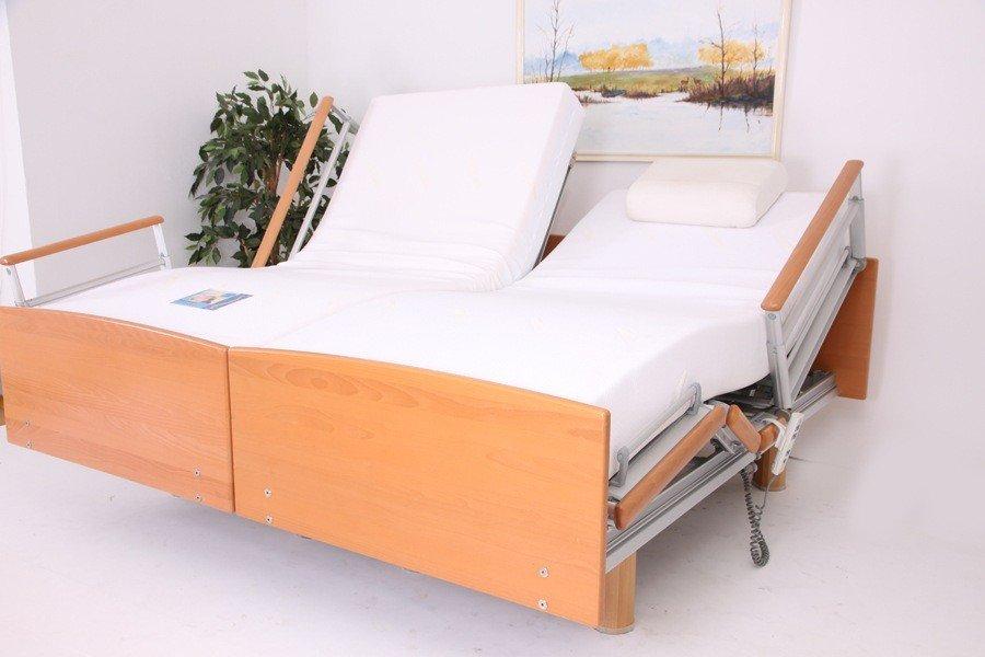qqq509510 Belletto 3080 MA Twee- persoons hoog laag bed uit voorraad. 2 x 90 x 200