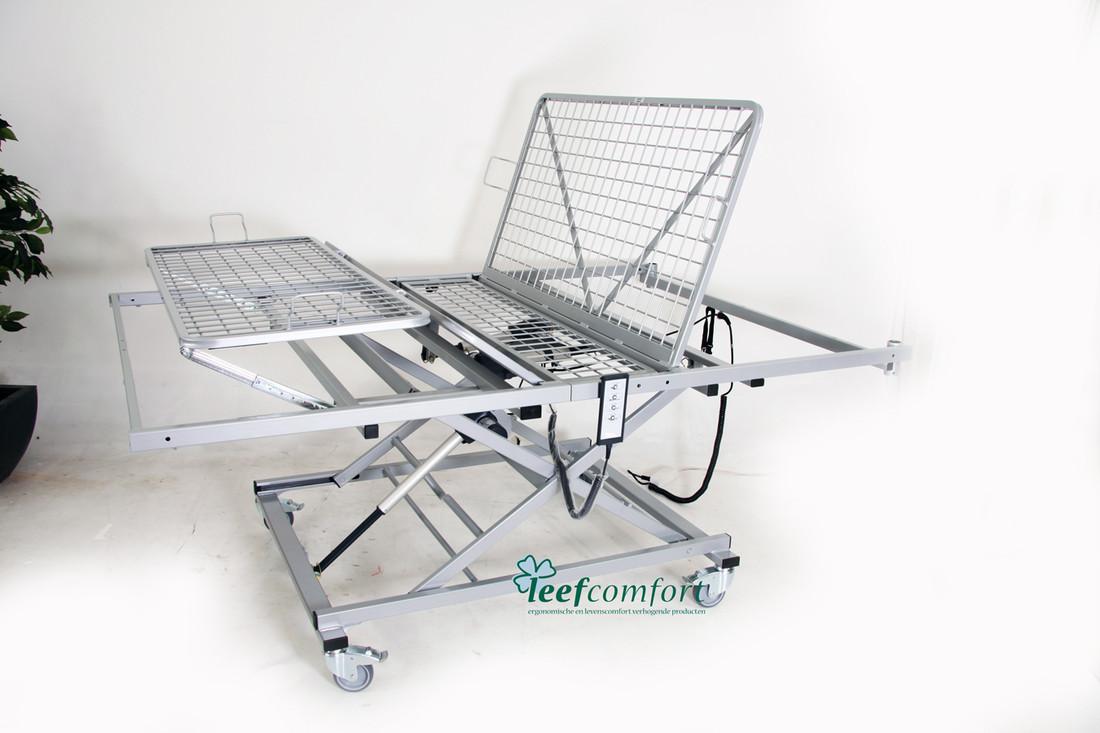 Hoog laag bed in bed carrier 140 x 200 met keuze uit 200, 225, 275 of 375 kilo belastbaarheid