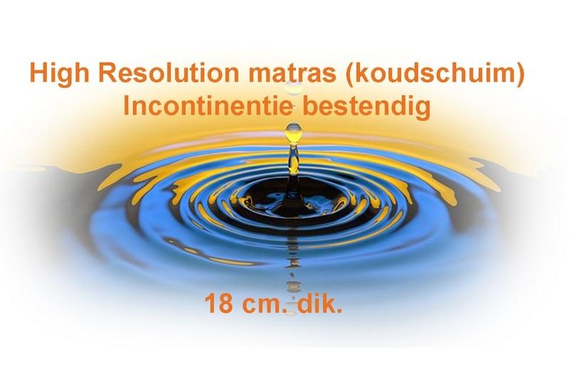 Incontinentie Matras BodyComfort 18 dik uit voorraad leverbaar
