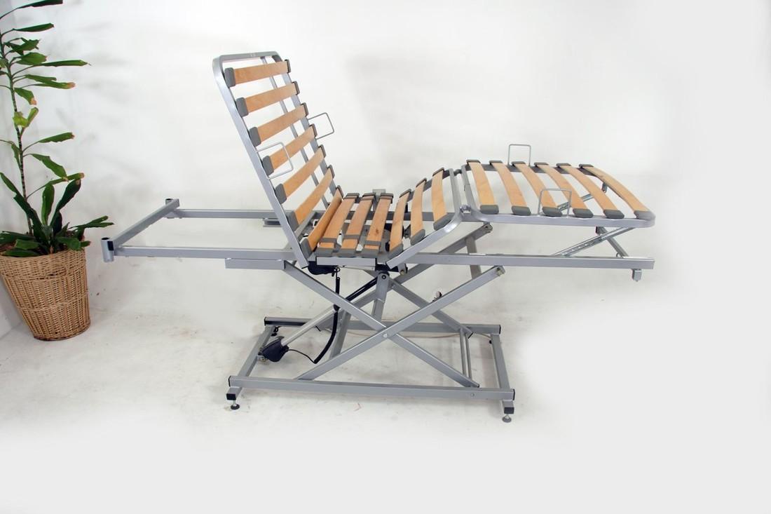 Hoog laag bed in bed carrier 100 x 220 met keuze uit 200, 225, 275 of 375 kilo belastbaarheid