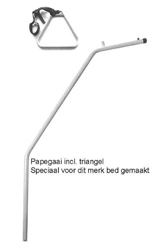 Papegaai model bed in bed, speciaal voor ons bed in bed systeem