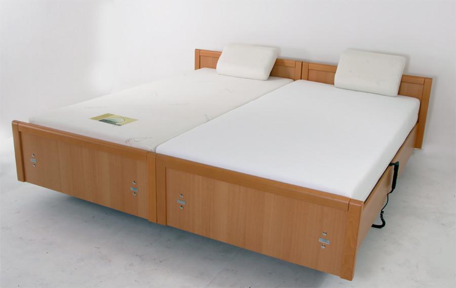Sentida 01 van Wissner-Bosserhoff tweepersoons hoog laag bed