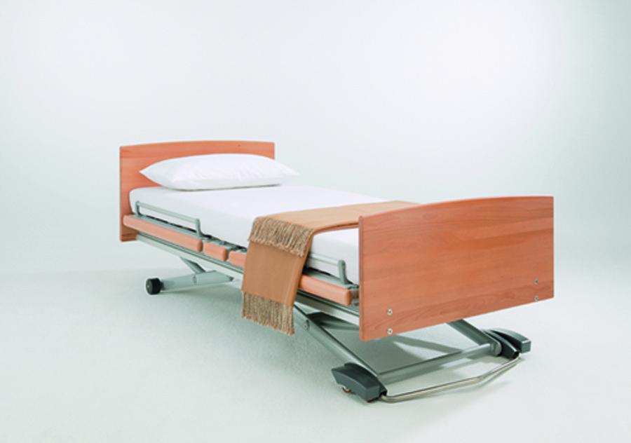 Belletto hoog-laag bed Linea model Vabasso (extra laag bed)